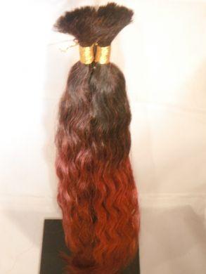 Wet and Wavy Bulk (Braid) Hair