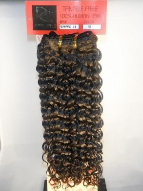 Water Wave Human Hair Extensions Weft