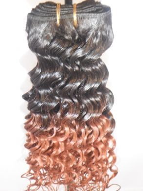 Deep Wave Weft Hair